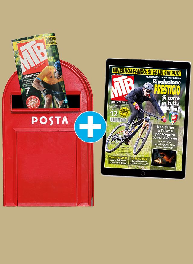 Abbonamento MTB Magazine Cartaceo Più IPad