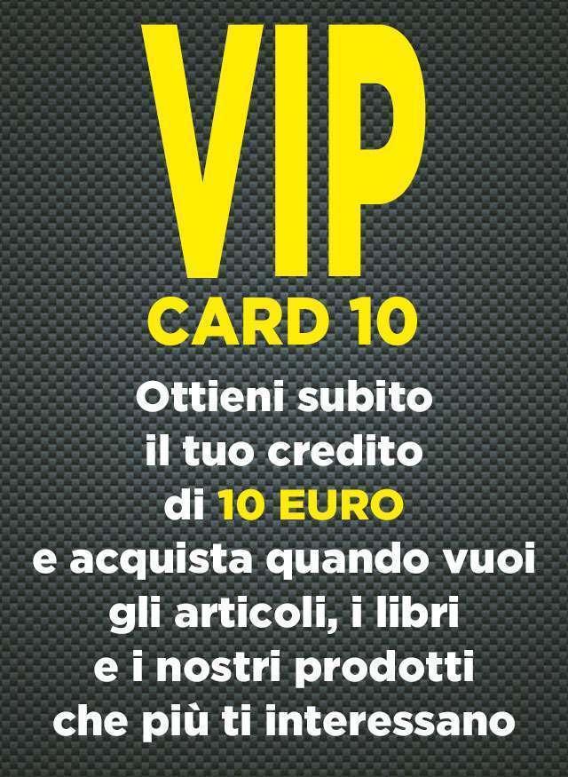 Vip Card 10 Euro