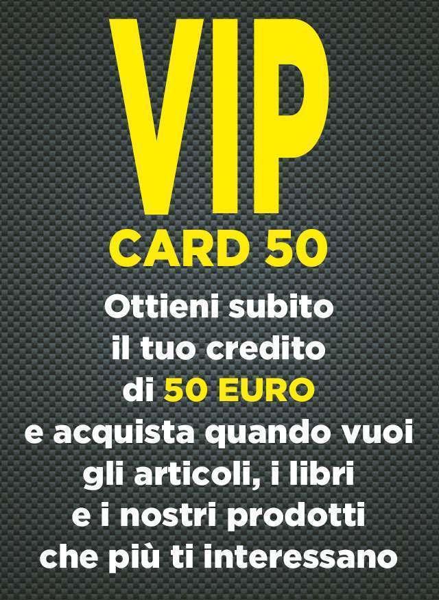 Vip Card 50 Euro