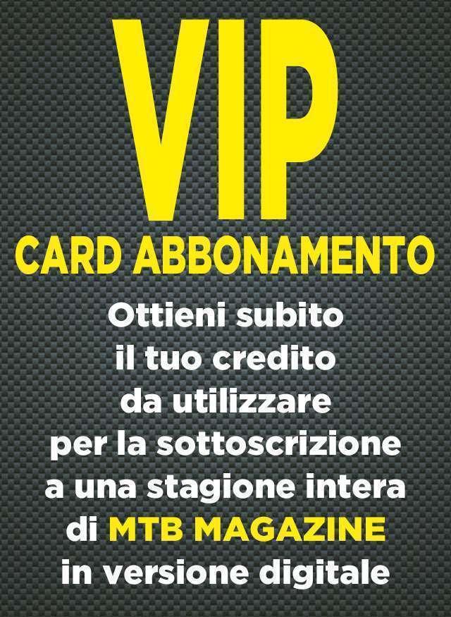 Vip Card Abbonamento Digitale MTB Magazine 12 Numeri